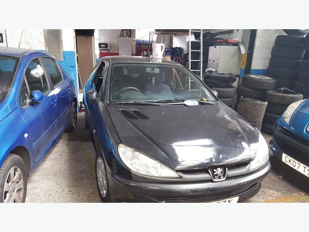 PEUGEOT 206 04 REG FRONT BUMPER FOR SALE IN BLACK COLOR