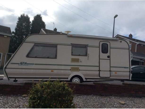 Abby gts vouge 4 berth light weight caravan
