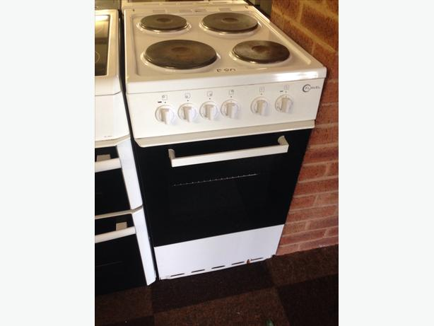 FLAVEL SINGLE CAVITY PLATED TOP ELECTRIC COOKER 50CM