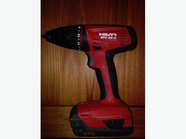 Hilti SFC 22-A Cordless compact drill driver