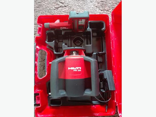 Hilti PR 35 ROTARY LASER LEVEL RED BEAM