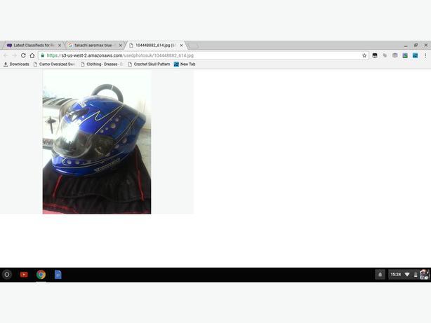 takachi aeromax bike helmet