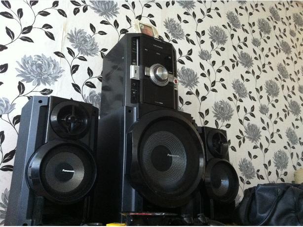 panasonic hifi sound system