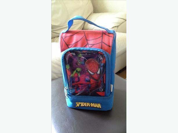 ## spiderman lunch bag