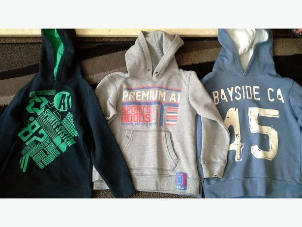 ##  3 boys hoodies 7-8 years