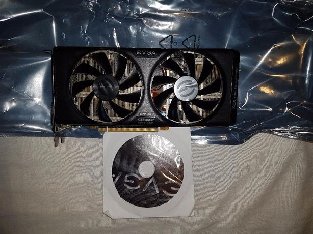 Evga GTX 660 FTW graphics card