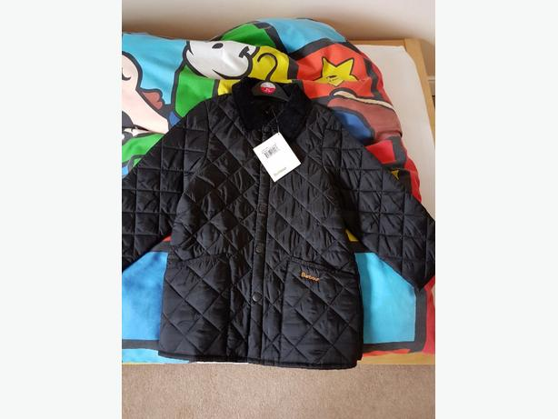 Boys Barbour Coat