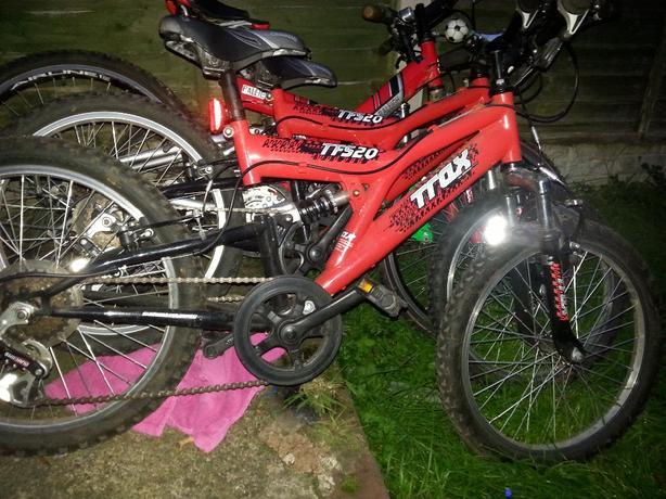 x2 kids mountain bikes