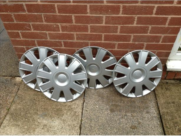 Ford wheel trims