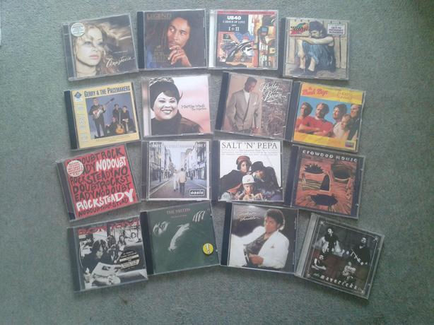 Assorted Music CDs. (16)