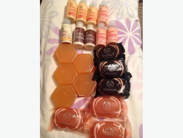 Job lot The Body Shop collection