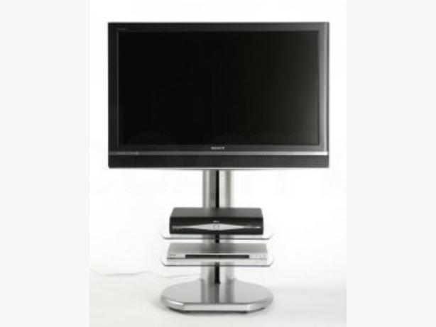"Off The Wall 'Origin' S4 Silver TV Stand - 32"" - 50"" TV - RRP £299.99"