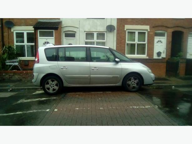 2005 7 seater renault espace privalage 2.2 dci mot may 2017