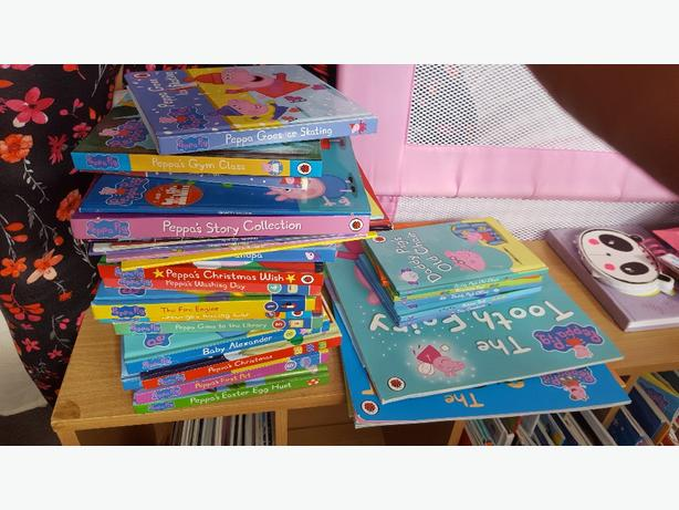 36 peppa books