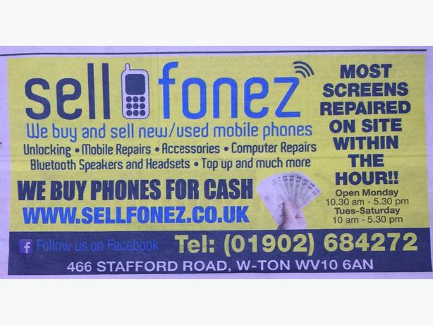 we repair most mobile phones,tablets and laptops