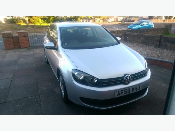 VW GOLF, 59 REG, LOW MILES, FULL SERVICE HISTORY, VERY RELIABLE CAR