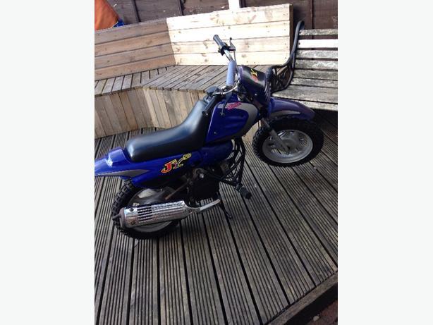 JR 50 Motorbike