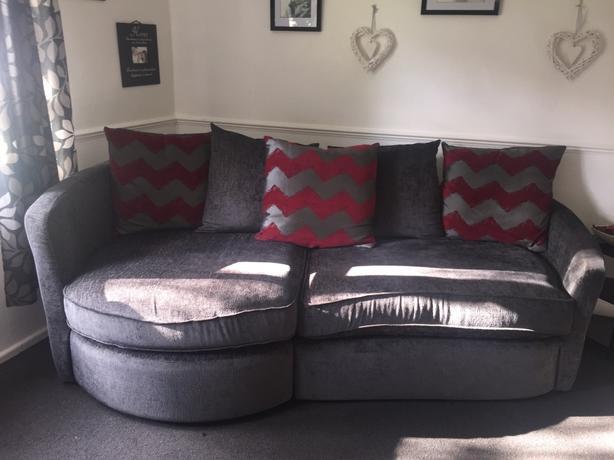 grey sofa!