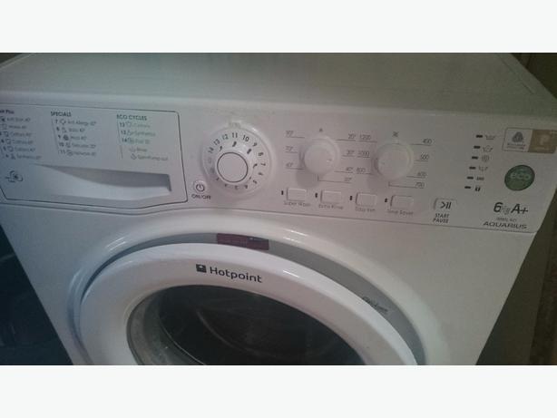 hotpoint washer white. 6kg
