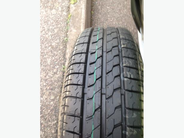 175/65R14 tyre on wheel