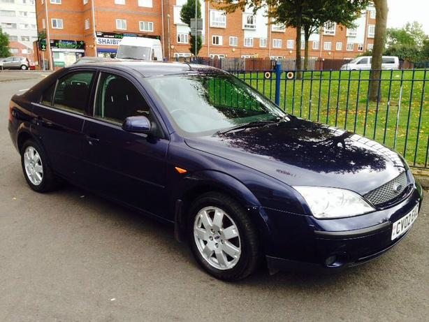 Ford Mondeo Zetec AUTOMATIC 2002 Full Service History Warranted mileage