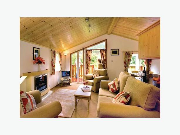 CHRISTMAS BREAK - Tima Log Cabin, Angecroft Park (Edinburgh & the Borders)