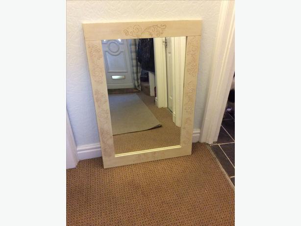 Mirror shabby chic reduced fir quick sale