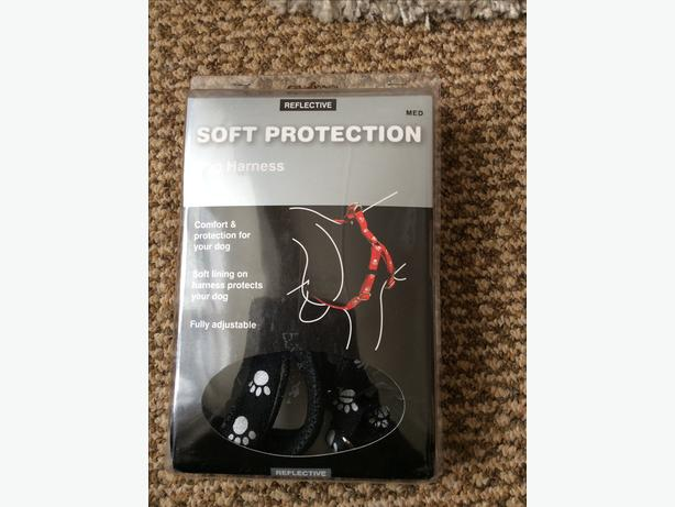Soft protection dog harness medium