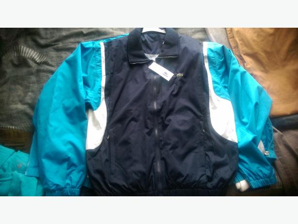 two new lacote jackets and sock mens