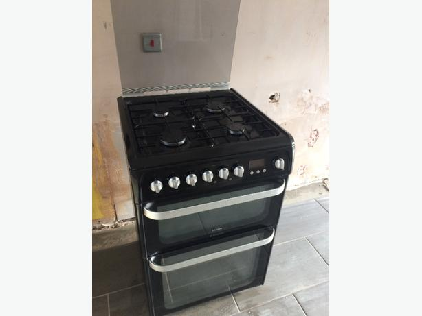 Hotpoint Duel fuel Double Oven cooker