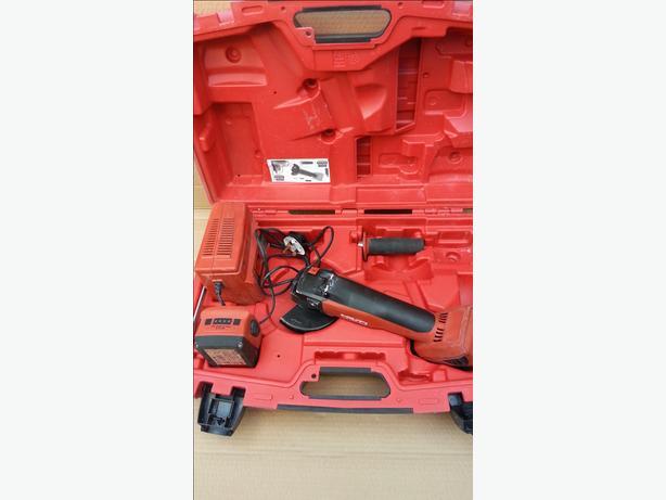 Hilti AG 125-A22 Angle Gringer 22v 2x 3.3ah