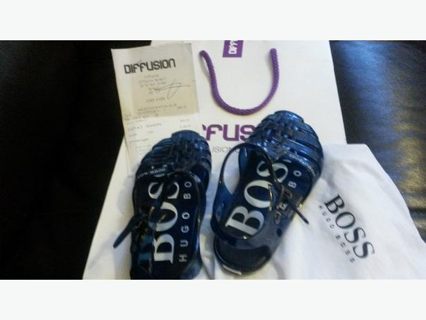 Genuine Hugo Boss Jelly Shoes