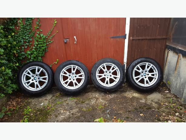 bmw x3 alloys and tyres