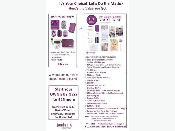 Work from home as a Jamberry Independent Consultant