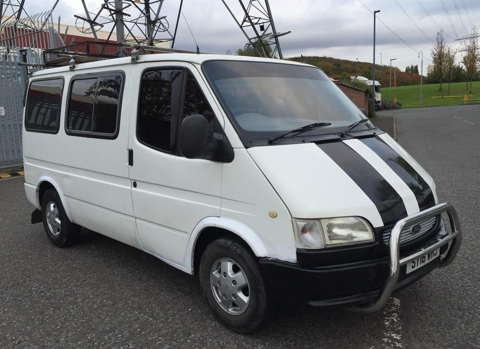 1999 s ford transit tourneo smiley 2 5 diesel dayvan minibus van camper wednesbury. Black Bedroom Furniture Sets. Home Design Ideas