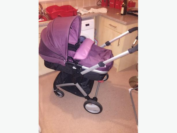 mothercare roam pushchair and car seat