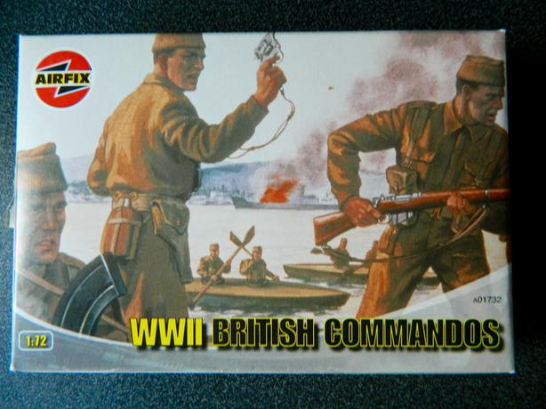 Airfix WW2 British Commandos
