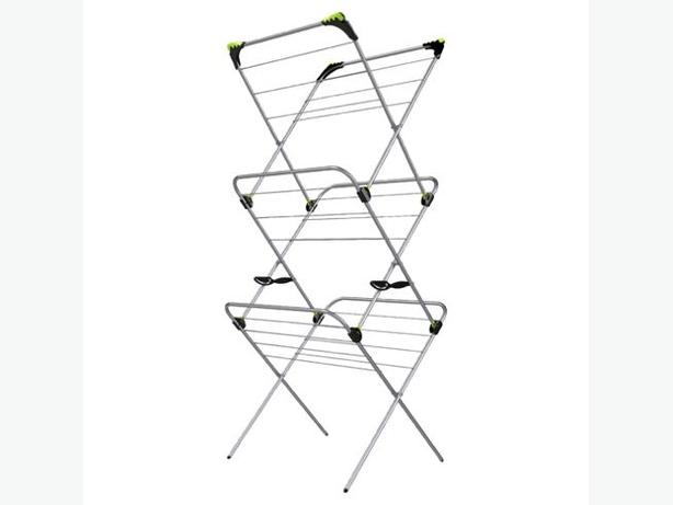 Minky 3 Tier 15m Indoor Clothes Airer With Flip Outs