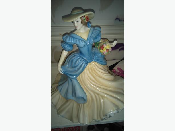 Royal Daulton figure of yrar
