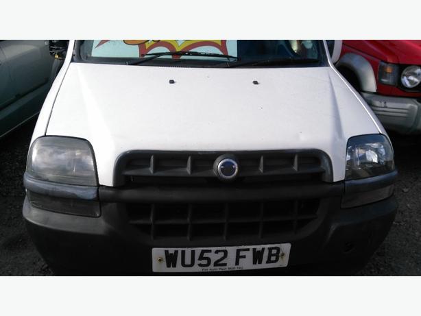 02 plate Fiat Doblo SX JTD