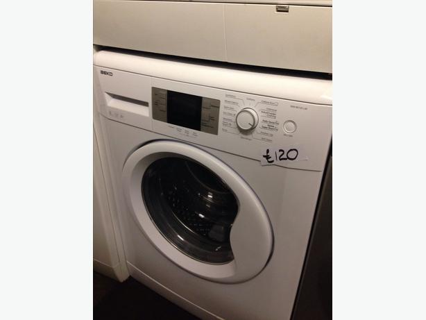 BEKO LCD DISPLAY 8KG WASHING MACHINE
