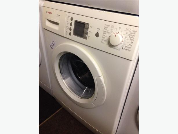 BOSCH WASHING MACHINE 6KG LCD DISPLAY