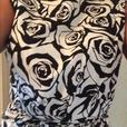 Black and White dress size 14 50's Style