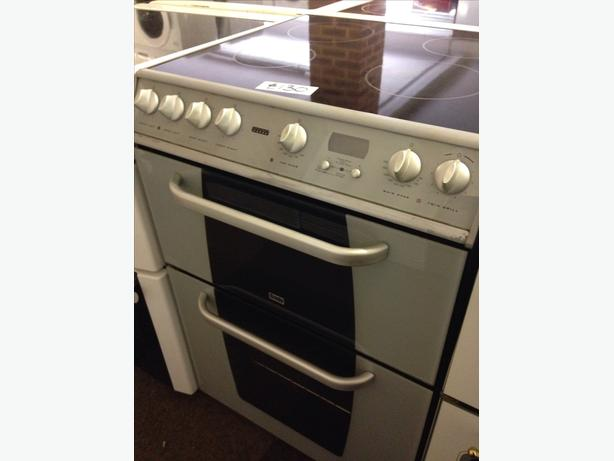 CREDA 60CM ELECTRIC COOKER DOUBLE OVEN