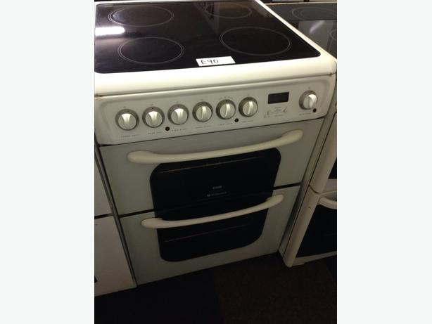 HOTPOINT CERAMIC TOP 60CM ELECTRIC COOKER