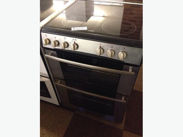 BELLING 60CM DOUBLE OVEN FAN ASSISTED ELECTRIC COOKER