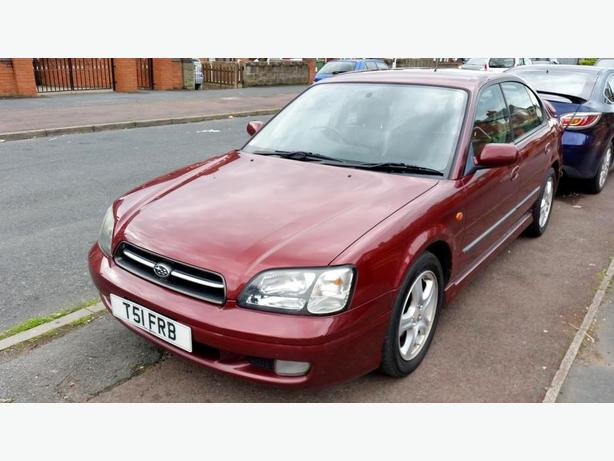 1999 SUBARU LEGACY 2.5 AUTO 4 WHEEL DRIVES MOT AUG DRIVES WITHOUT FAULT