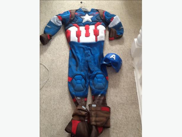 Captain America dress up outfit