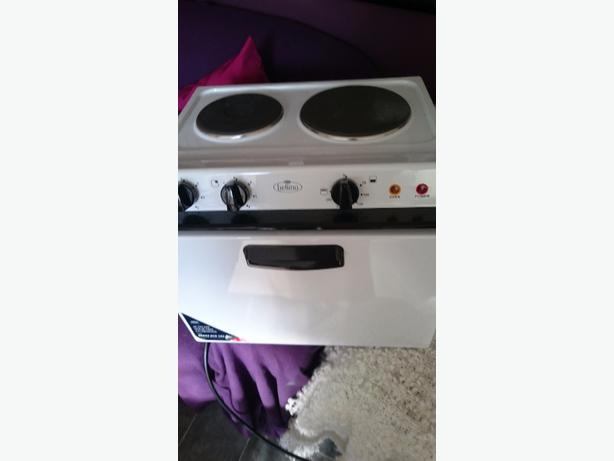 mini oven and hob