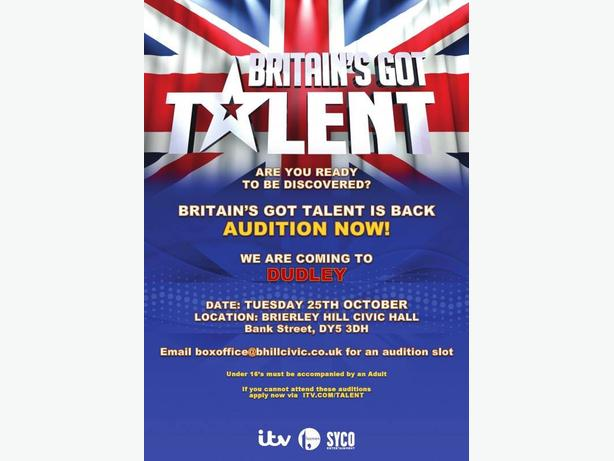 Britain's Got Talent Open Auditions